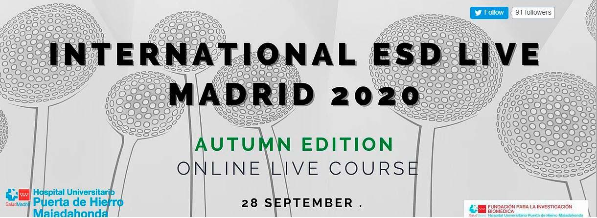 EL ESD Live, Madrid, tendrá lugar el 28 de septiembre en formato online
